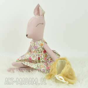 bambi zabawki sarenka w kwiecistej sukience