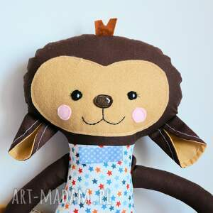 świąteczne prezenty chłopczyk słodka małpka marek 45