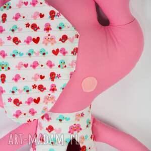 białe zabawki maskotka słoń farciarz - wiki 48 cm