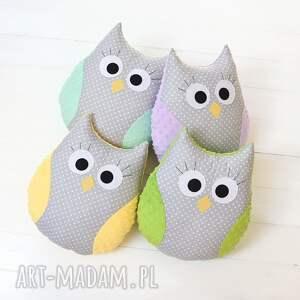 ręczne wykonanie zabawki sowa