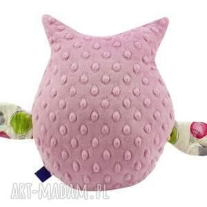 frapujące zabawki sowa gustaw, wzór balony