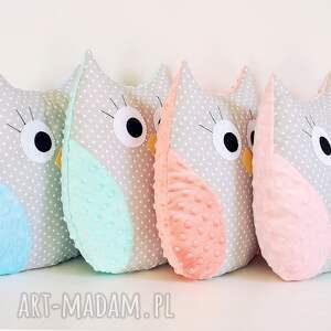 hand made zabawki poduszka sowa podszka