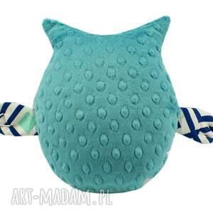 nietypowe zabawki sowa przytulanka gustaw, wzór