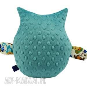 wyjątkowe zabawki sowa przytulanka gustaw, wzór