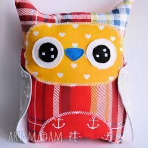handmade zabawki sowa średnia piotruś