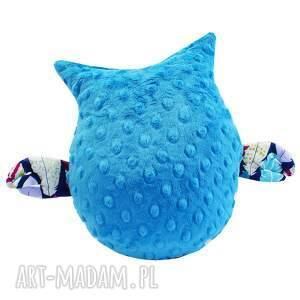 handmade zabawki sowa zabawka gustaw, wzór piórka