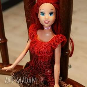 ręcznie robione zabawki sukienkadlalalki sukienka dla lalki