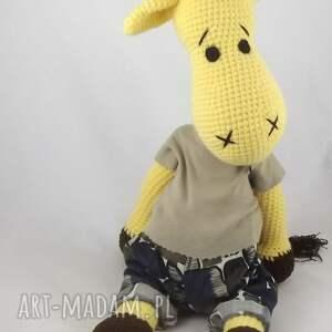szydełkowa zabawki żyrafa