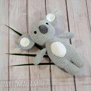 eleganckie zabawki miś szydełkowy koala z dedykacją