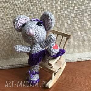 handmade zabawki myszka wyprzedaż! baletnica
