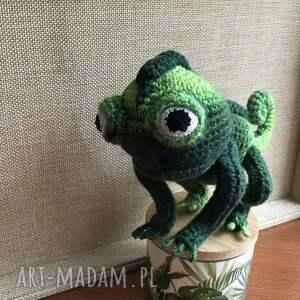 handmade zabawki kameleon wyprzedaż! śliczny