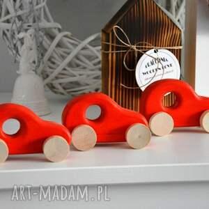 zabawki autko 3 x samochody drewniane