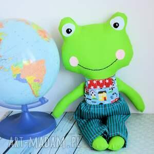 atrakcyjne zabawki bezpieczna żabka - super kumpel - tomuś
