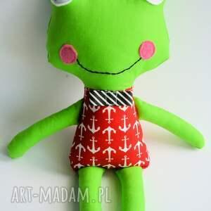 czerwone zabawki morze żabka - wersja s piotrek 35 cm