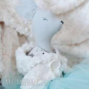 zimowa zabawki białe pelerynka baletnicy