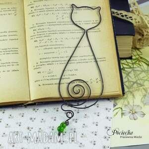 zakładki zakładka kot wiktor - do książki