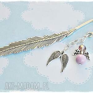 prezenty pod choinkę zakładka lawendowe anioły - oryginalny