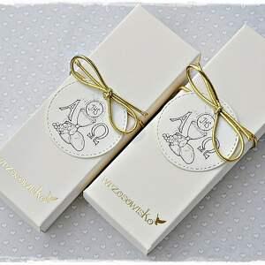 pomysł na świąteczne prezenty białe zakładka do biblii - prezent