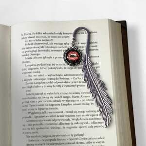 niepowtarzalne zakładki zakładka do książki wampir