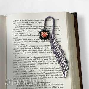 autorskie zakładki zakładka do książki serce