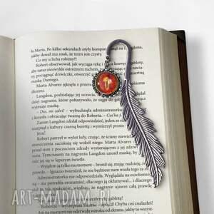 ręcznie zrobione zakładki zakładka do książki oko saurona