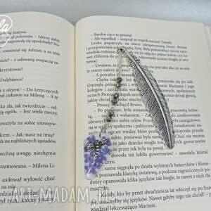 ręczne wykonanie żywica 0716 - zakładka do książki