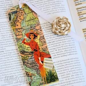 kolorowe zakładki kobieta zakładka do książki - dziewczyna