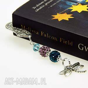 srebrne zakładki metalowa zakładka do książki