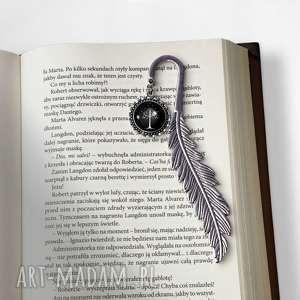 niepowtarzalne zakładki zakładka do książki białe drzewo