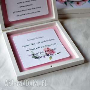 Oryginalne Zaproszenia ślub Drewniane Zaproszenie Dla Rodziców