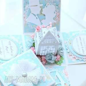 zaproszenia ślub pudełeczko eksplodujące