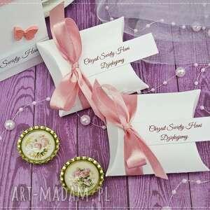 różowe zaproszenie na chrzest św. kolekcja