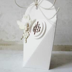 eleganckie zaproszenie pudełeczka - podziękowania