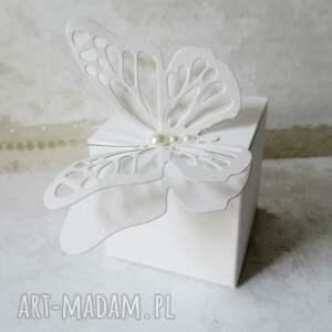 handmade pamiątka pudełeczka podziękowania dla gości