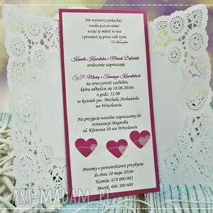 wyjątkowe zaproszenie ślub zaproszenia na ślub- perfect love