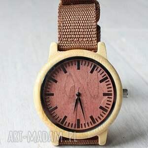 drewniany zegarki bambusowy zegarek z ceglastą