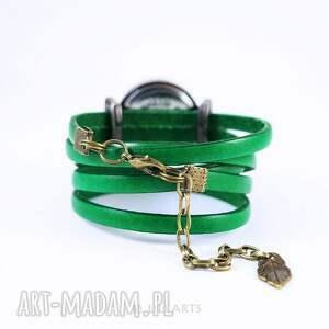 hand made zegarki bransoletka, zegarek - słoń