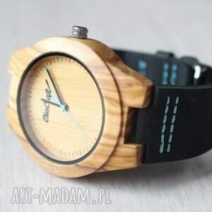 zegarek zegarki turkusowe damski drewniany jay blue