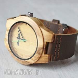zegarek zegarki zielone damski drewniany jay green
