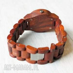 elegancki zegarki damski drewniany zegarek seria mini