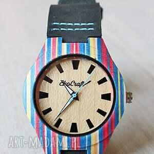 ręcznie wykonane zegarki deska damski drewniany zegarek parrot