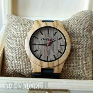 zegarki: damski drewniany zegarek osprey - ekologiczne