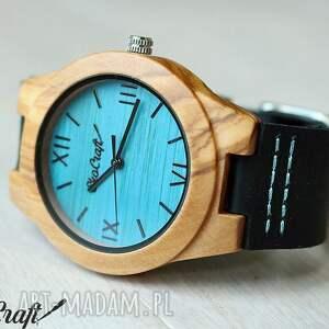 brązowe zegarki drewniany damski zegarek kingfisher