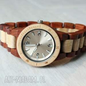 zegarki drewniany damski zegarek seria mini