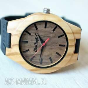 zegarek zegarki czerwone damski drewniany osprey