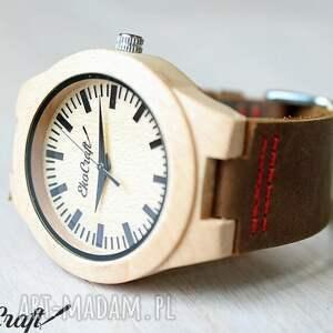 drewniany zegarki brązowe damski zegarek rhea