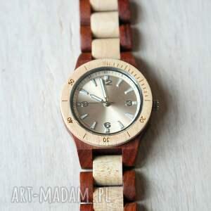 zegarki zegarek damski drewniany seria mini