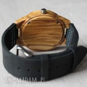 ręczne wykonanie zegarki zegarek damski drewniany jay blue