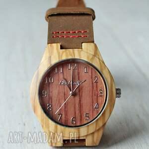 brązowe zegarki zegarek damski drewniany linnet