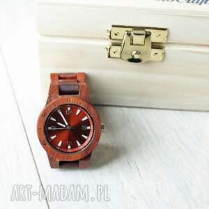 hand made zegarek damski drewniany seria mini